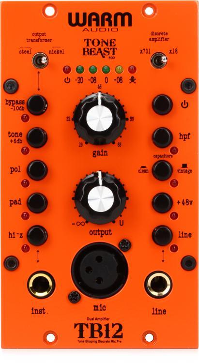 Warm Audio TB12 500 Microphone Preamp image 1