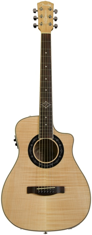 Fender T-Bucket 200-CE Flame Maple - Natural image 1