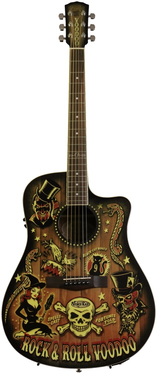 Fender T-Bucket 300-CE Vince Ray Voodoo image 1