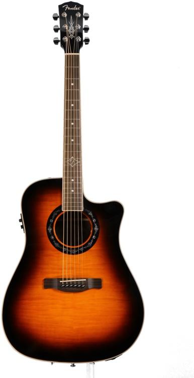 Fender T-Bucket 300 CE - 3-Tone Sunburst image 1