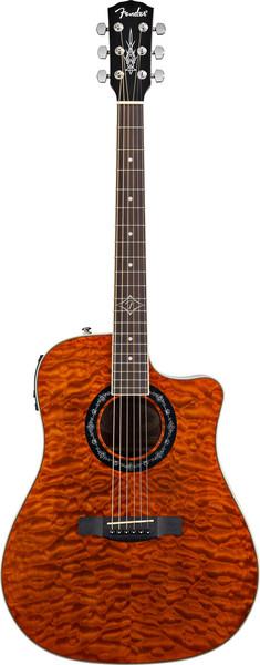 Fender T-Bucket 300 CE - Amber image 1