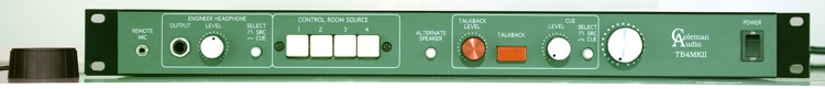 Coleman Audio TB4 mkII Stereo Monitor Controller image 1