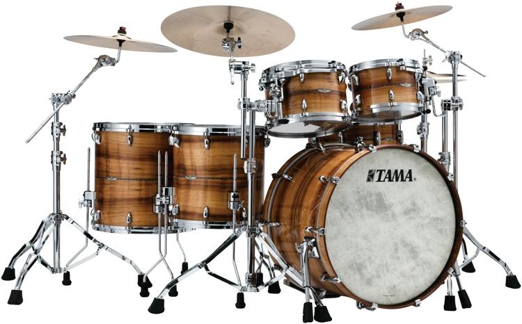 c12f89c4d306 Tama Star Bubinga 5-piece Shell Pack - Exotix Blackwood