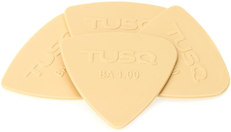 Graph Tech Tusq Bi-Angle 1.0mm Pick - Warm 4-Pack image 1