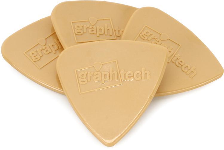 Graph Tech Tusq Bi-Angle 2.0mm Pick - Warm 4-Pack image 1