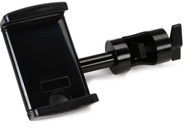 On-Stage Stands Grip-On Universal Device Holder with u-mount Round Clamp image 1