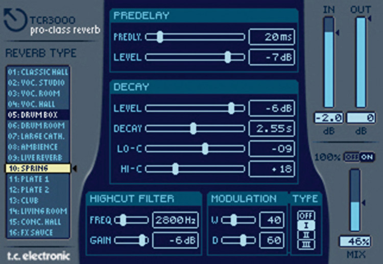 Roland TC Electronic TCR 3000 and TC Pro Class Reverb 3000 VS image 1