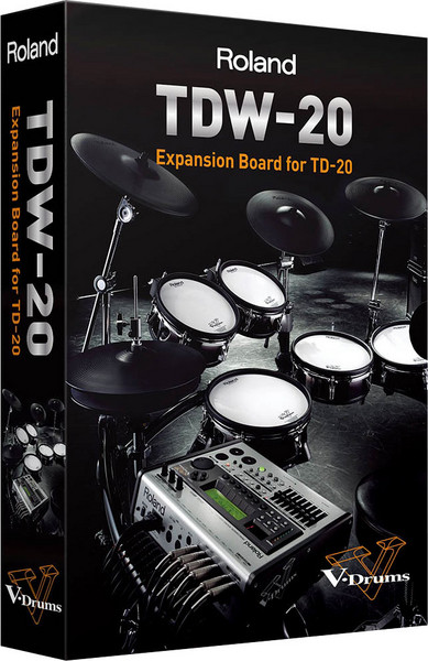 Roland TDW-20 Expansion for TD-20 image 1