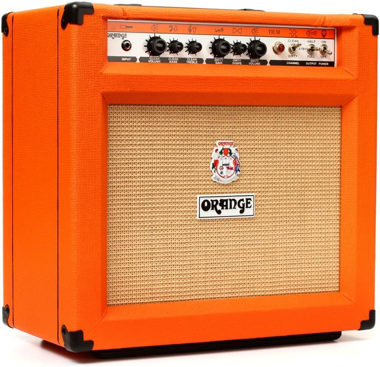 orange th30c 30 watt 1x12 combo amp sweetwater. Black Bedroom Furniture Sets. Home Design Ideas