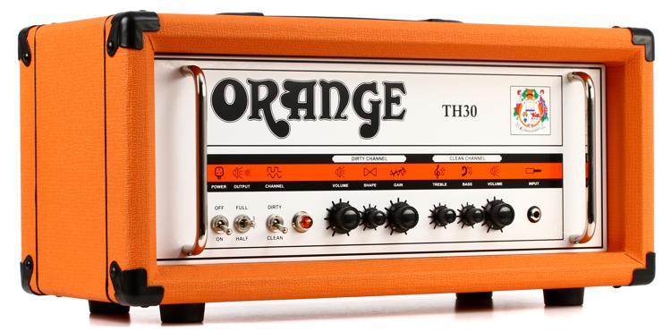 Orange TH30H 30-watt 2-channel Tube Head image 1