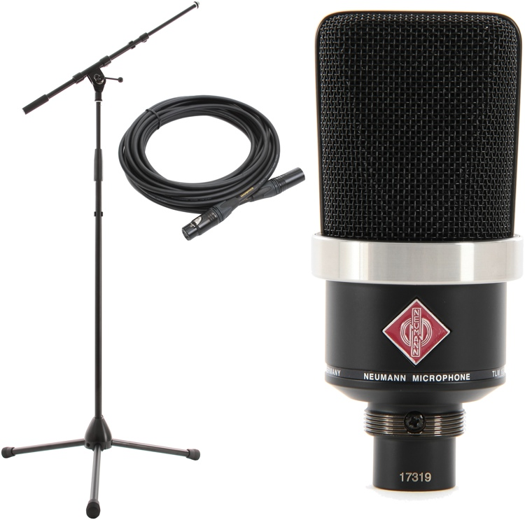 Neumann TLM 102 Package - Matte Black image 1