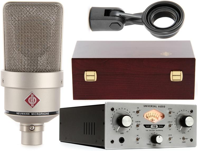 Neumann TLM 103 Nickel + Universal Audio 710 image 1