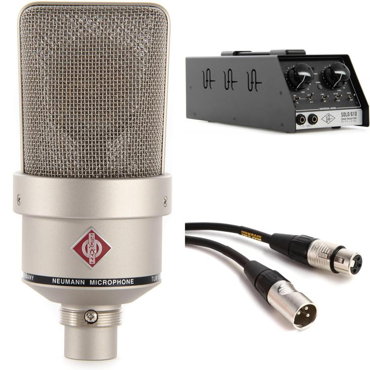 Neumann TLM 103 with Universal Audio SOLO/610 - Nickel image 1