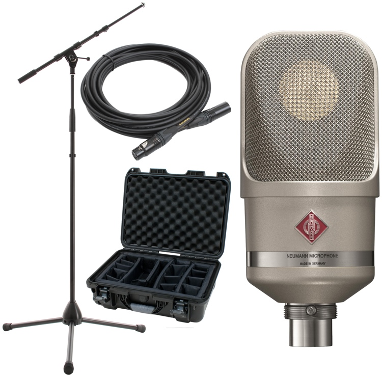 Neumann TLM 107 Package with Stand and Cable image 1