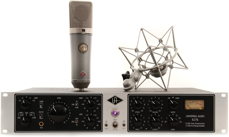 Neumann TLM 67 Set Z Mic Month 2013 Bundle - With 6176 Preamp image 1
