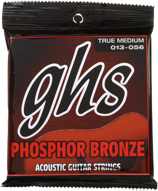 GHS TM335 Phosphor Bronze True Medium Acoustic Guitar Strings image 1