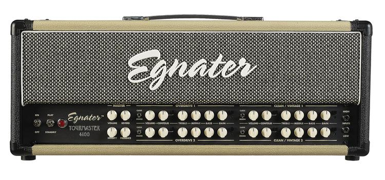 Egnater Tourmaster 4100 100-watt Tube Head image 1