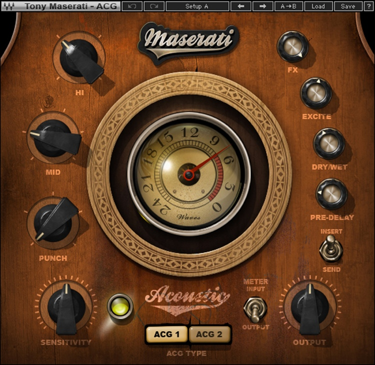 Waves Maserati ACG Acoustic Guitar Designer Plug-in image 1