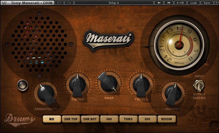 Waves Maserati DRM Drum Slammer Plug-in image 1