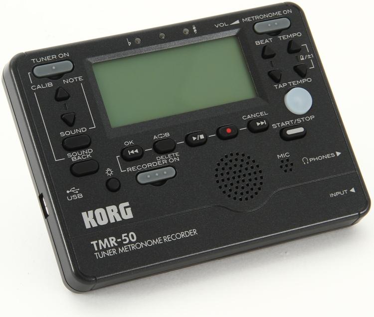 Korg TMR50 Tuner Metronome - Black image 1