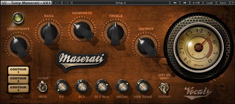Waves Maserati VX1 Vocal Enhancer Plug-in  image 1
