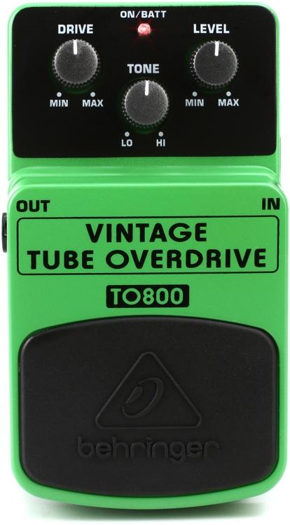 Behringer TO800 Vintage Tube Overdrive Pedal image 1