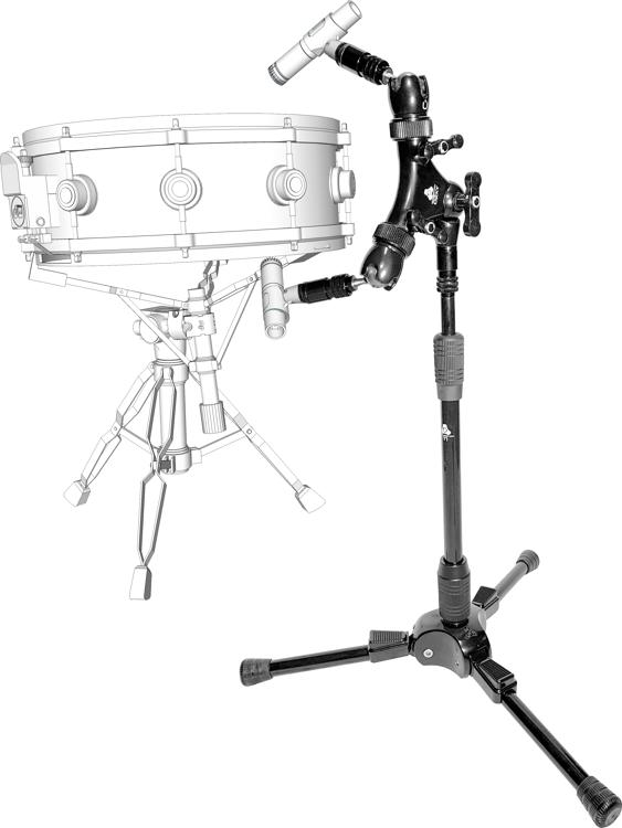 Triad-Orbit Dual Mic System Microphone Stand Package image 1