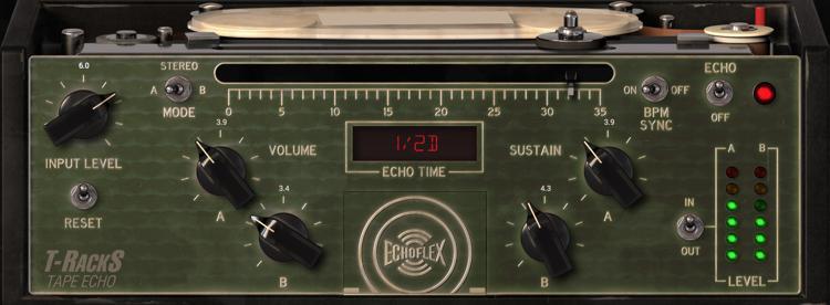 IK Multimedia T-RackS Tape Echo Plug-in image 1