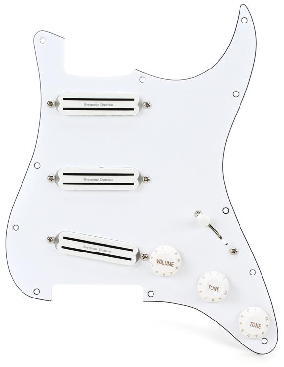 Seymour Duncan Triple Rails Fully Loaded Liberator Pickguard for Strat image 1