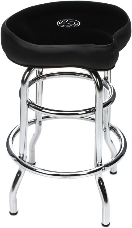 roc n soc tower saddle stool short 26 black velour sweetwater. Black Bedroom Furniture Sets. Home Design Ideas