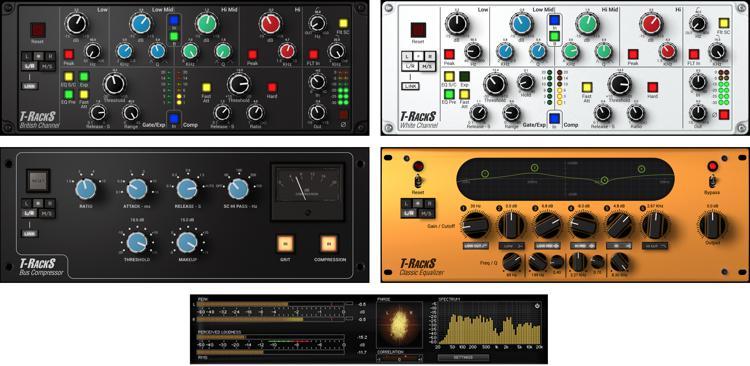 IK Multimedia T-RackS British Studio Series Software Suite image 1