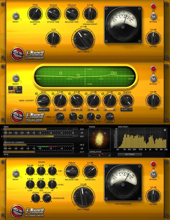 IK Multimedia T-RackS Classic Software Suite image 1