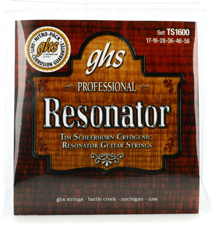 GHS Tim Scheerhorn Phosphor Bronze Resonator Strings image 1