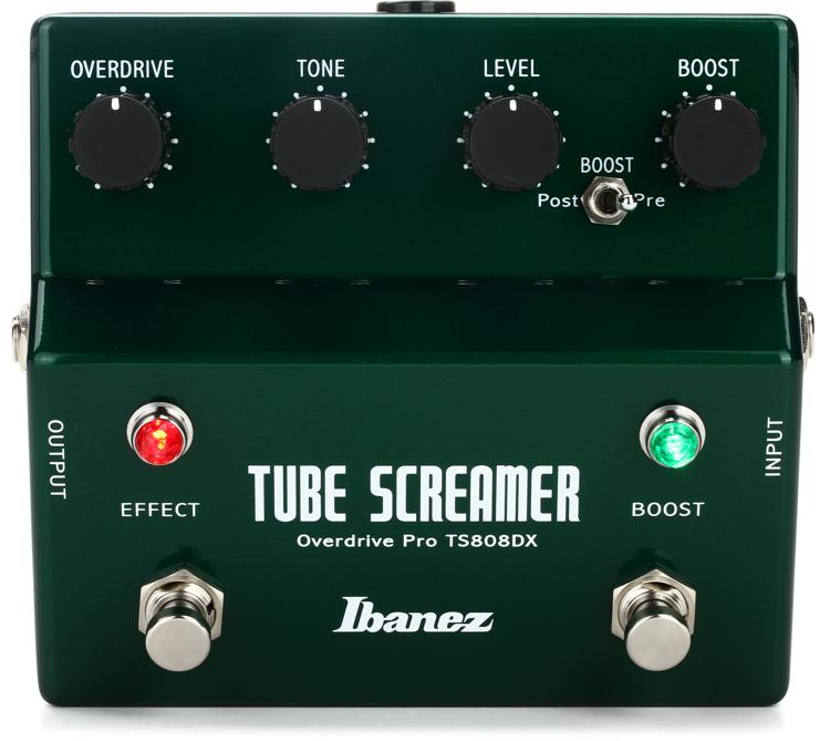 Ibanez TS808DX Tube Screamer Overdrive Pro Deluxe image 1