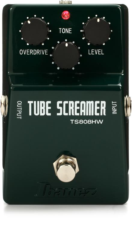 Ibanez TS808HW Hand Wired Tube Screamer Overdrive Pedal image 1