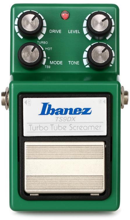 Ibanez TS9DX Turbo Tube Screamer Overdrive Pedal image 1