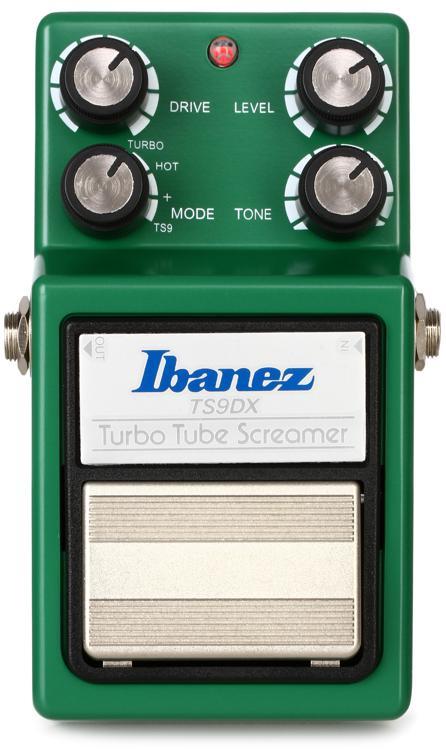 Ibanez TS9DX Turbo Tube Screamer Overdrive Pedal image 1