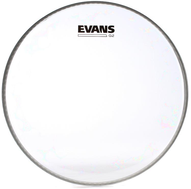 Evans G2 Clear Drumhead - 12