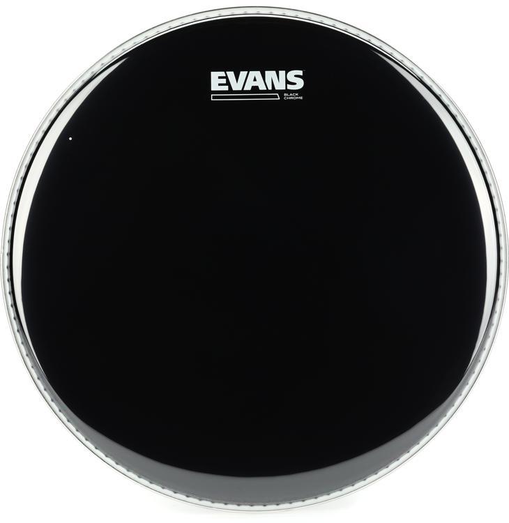 Evans TT13CHR Black Chrome Tom Batter Head - 13