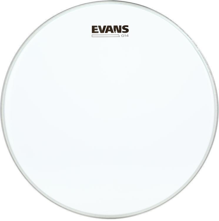 Evans G14 Clear Drum Head - 14
