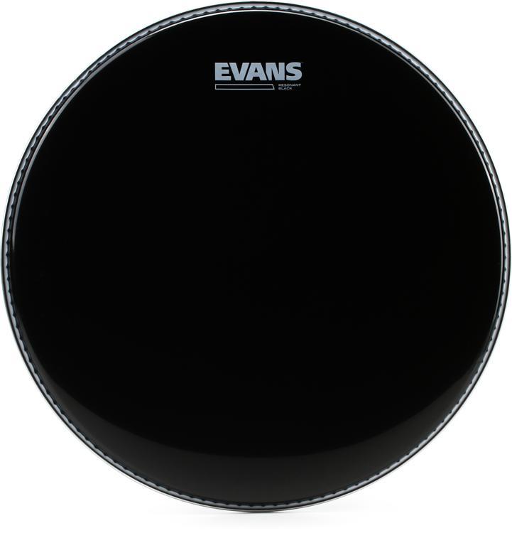 Evans Resonant Black Tom Head - 14