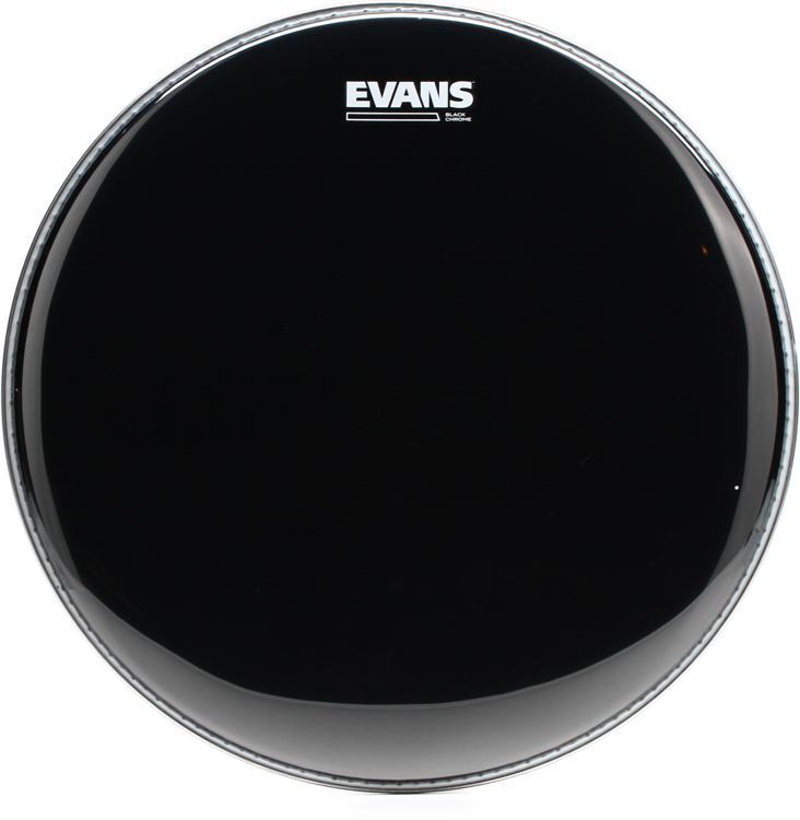 Evans TT15CHR Black Chrome Tom Batter Head - 15