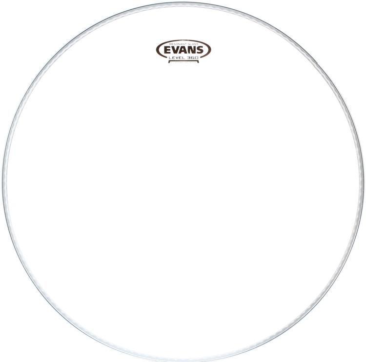 Evans Resonant Glass Drumhead - 16