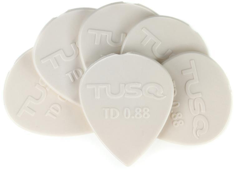 Graph Tech Tusq Tear Drop .88mm Pick - Bright 6-Pack image 1