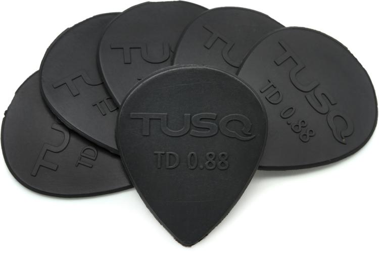 Graph Tech Tusq Tear Drop .88mm Pick - Deep 6-Pack image 1