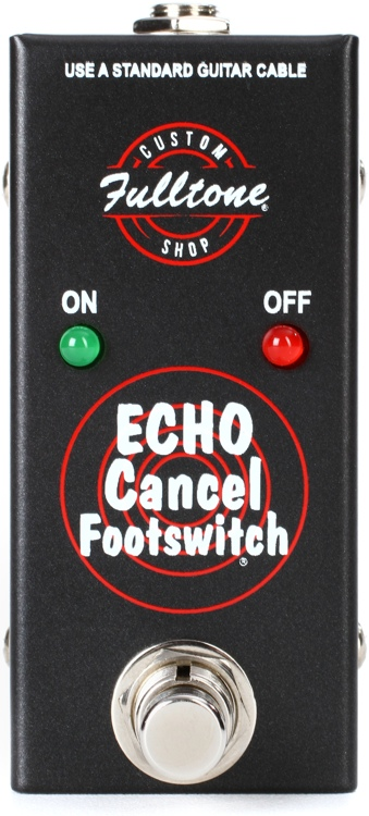 Fulltone Custom Shop Tape Echo Cancel Footswitch For TTE and SSTE image 1