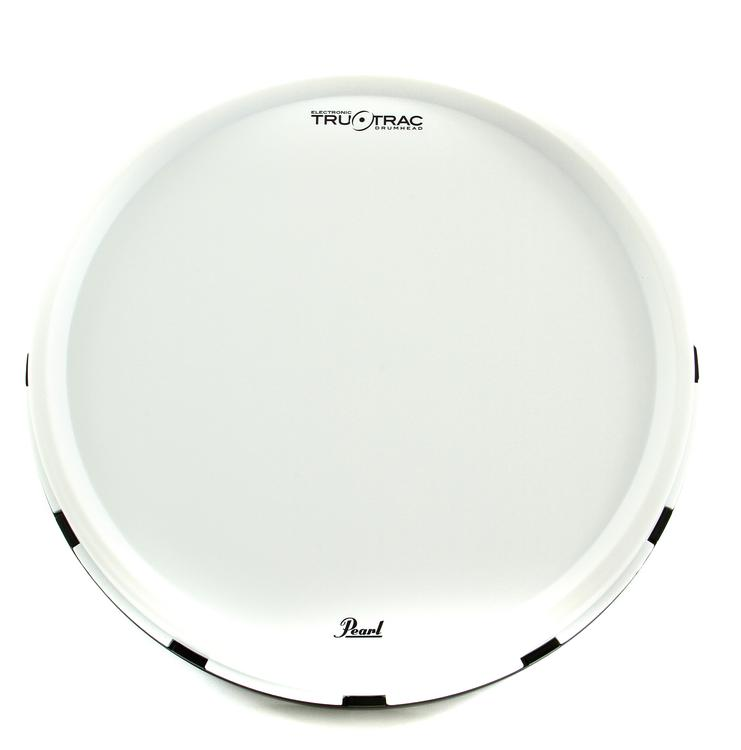 Pearl Tru Trac Dual Zone Electronic Drum Head - 14