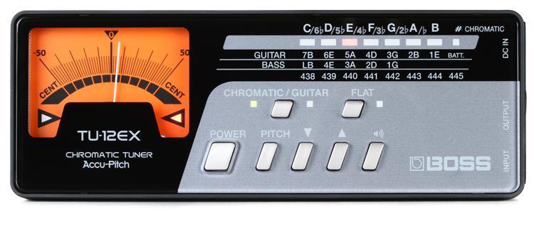 Boss TU-12EX Guitar and Bass Chromatic Tuner image 1