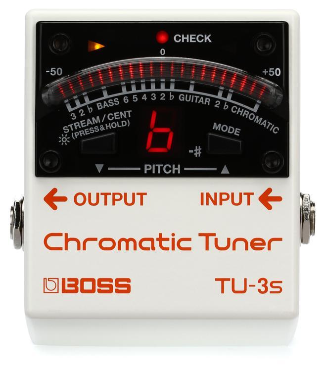 Boss TU-3S Chromatic Tuner image 1