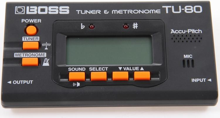 Boss TU-80 Chromatic Tuner and Metronome image 1